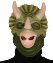 Dinosaurus triceratops verkleedmasker