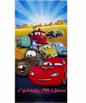 Disney cars handdoek mc queen