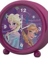 Disney frozen kinder wekker klokje roze 11 5 x 12 cm