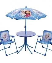 Disney frozen tuinstoelen met tafel en parasol