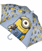Disney paraplu minion blauw