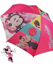 Disney paraplu minnie mouse roze