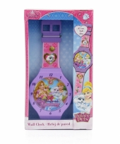 Disney princess horloge wandklok 47 cm