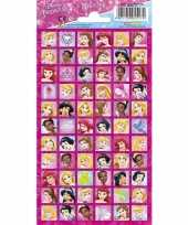 Disney princess portret stickers
