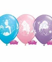 Disney princess thema ballonnen 6x