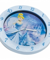 Disney prinsessen muurklok 25 cm