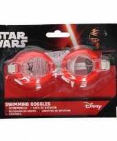 Disney starwars zwembril rood 19 x 12 7 x 2 5 cm