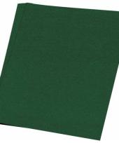 Donkergroen knutsel papier 50 vellen a4