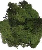 Donkergroene mos natuurlijk materiaal 50 gram