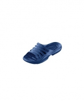 Douche slippers navy voor heren