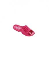 Douche slippers rose voor dames