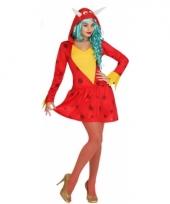 Draak dames verkleedkleding