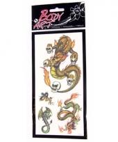 Draak tattoo stickers type 1