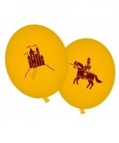Draken en ridders ballonnen