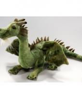 Draken knuffels groen 30 cm