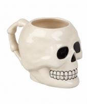 Drinkbeker schedel 10 cm