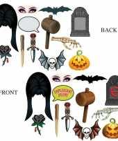 Dubbelzijde foto booth props halloween