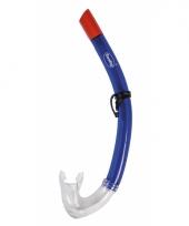 Duik snorkel blauw