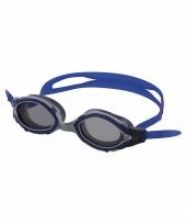 Duikbril voor volwassenen blauw grijs