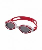 Duikbril voor volwassenen rood grijs