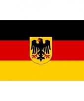 Duitse mega vlag met adelaar 150 x 240 cm