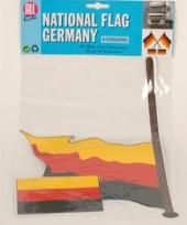 Duitse vlag stickerset