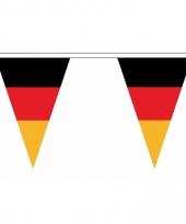 Duitsland versiering vlaggenlijn 5 m