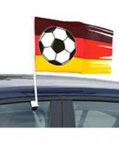 Duitsland vlag voor aan de auto
