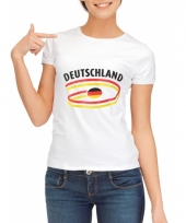 Duitsland vlaggen t-shirts voor dames