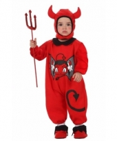 Duivel jumpsuit voor baby s