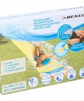 Dunlop waterglijbaan geel 488 cm