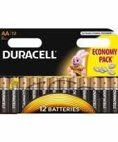 Duracell lr6 aa batterijen 12 stuks