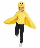 Eenden kostuum cape voor peuters