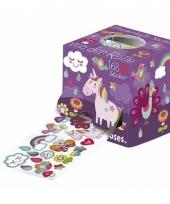Eenhoorn stickers 168 stuks