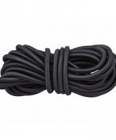 Elastisch koord zwart 10 meter