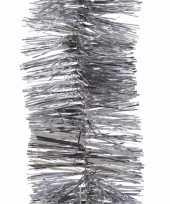 Elegant christmas zilveren kerstversiering folieslinger 270 cm