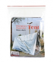 Emergency tent 2 43 x 1 52 m