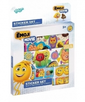 Emoji stickervellen