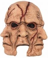 Enge 3 maal een gezicht horrormasker
