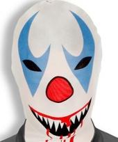 Enge clownsmasker morphsuit