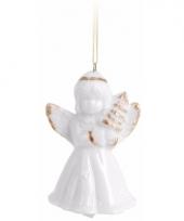 Engel kerstboom hanger 6 cm type 2