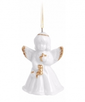 Engel kerstboomhanger 6 cm type 3