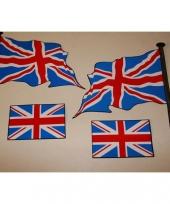 Engelse sticker set van 4