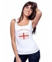 Engelse vlag tanktop singlet voor dames