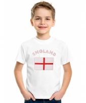 Engelse vlaggen t-shirts voor kinderen