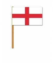 Engelse zwaaivlaggen st george