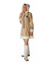 Eskimo dames vest met capuchon
