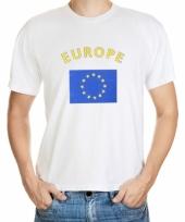 Europeese vlaggen t-shirts