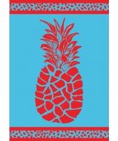 Extra groot strandlaken pineapple 140 x 200