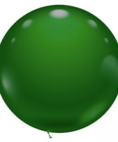Extra grote groene ballon 70 cm